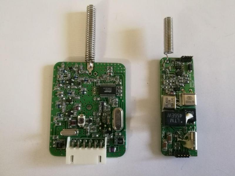 ماژول فرستنده و گیرنده مدل: TRT610U