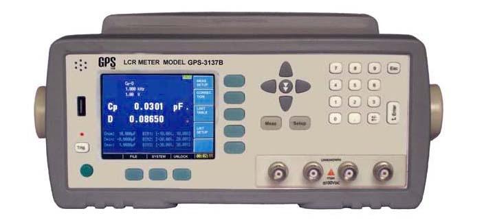 دستگاه LCR متر دیجیتال رومیزی مدل: GPS-3138B