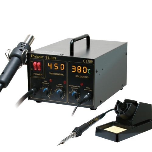 هویه هوای گرم 2 کاره دیجیتال مدل: SS-989B
