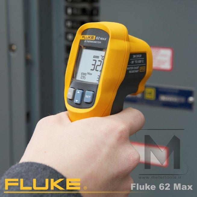 ترمومتر لیزری فلوک مدل: FLUKE 62 MAX