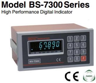 نمایشگر وزن مدل: BS-7300
