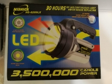چراغ قوه شکاری شارزی مدل: NS-8982LX