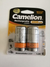 باتری قابل شارژ سایز C متوسط - CAMELION