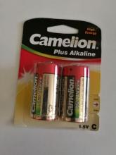 باتری آلکالاین سایز C متوسط - CAMELION