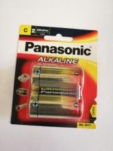 باتری آلکالاین سایز C متوسط - PANASONIC