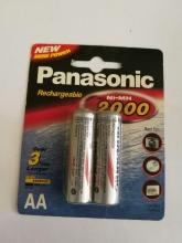 باتری قلمی سایز AA قابل شارژ  - PANASONIC