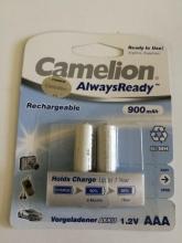 باتری نیم قلمی سایز AAA قابل شارژ - CAMELION ALWAYS READY