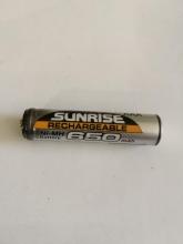 باتری نیم قلمی سایز AAA قابل شارز - SUNRISE