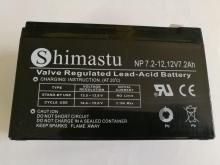 باتری خشک 12 ولت قابل شارز - SHIMASTU 7.2Ah