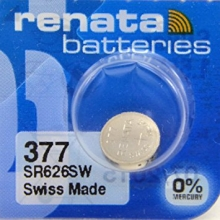 باتری سکه ای اکسید نقره - RENATA 377
