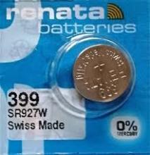 باتری سکه ای اکسید نقره - RENATA 399