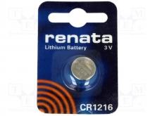 باتری لیتیوم سکه ای RENATA - CR1216