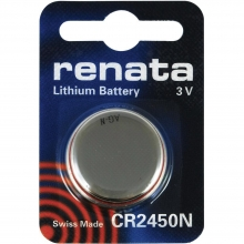 باتری لیتیوم سکه ای RENATA - CR2450N