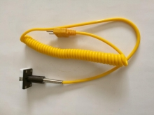 ترموکوپل و پراب دما تماسی تیپ K  آهنربایی مدل: LT-60