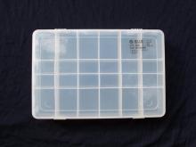 جعبه چندخانه پلاستیکی قطعات مدل: 1201