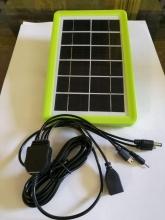 پنل خورشیدی 6 ولت - 3 وات مدل: DP-LI21