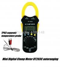 آمپرمتر دیجیتال کلمپی AC مدل: DT-203C