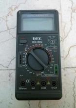 مولتی متر پرتابل دیجیتال مدل: DEC 890G