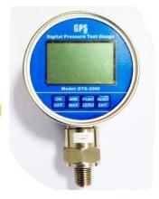 تست گیج فشار دیجیتال 2 بار مدل: DTG-2000-2G