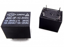 رله پایه میلون 3 ولت 15 آمپر تک کنتاکت لیمینگ LIMING