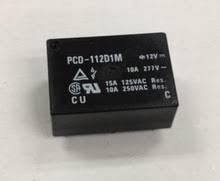 رله 12 ولت 10 آمپر 12V-10A تک کنتاکت OEG