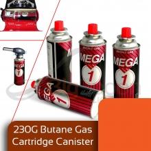 کپسول گاز کارتریجی -نازلی یا فشنگی MEGA ONE