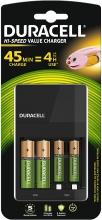 شارژر باتری اتوماتیک دوراسل DURACELL مدل: CEF14