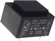 ترانس 220 به دوبل 7.5 ولت HAHN مدل: BV EI 305 2894